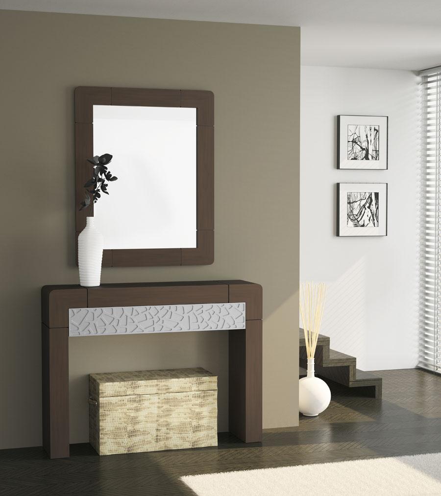 Muebles para entradas y recibidores recibidor moderno for Recibidores muebles