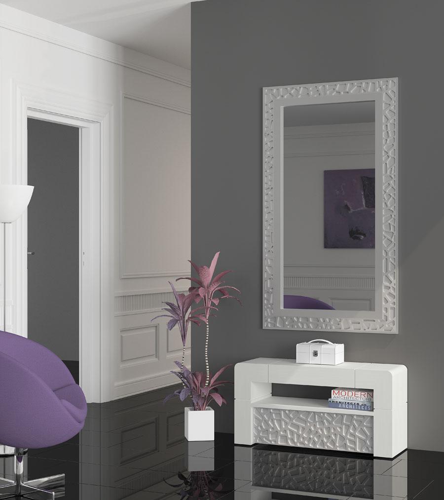 Mueble recibidor blanco y gris 20170730193046 - Muebles ruiz ...