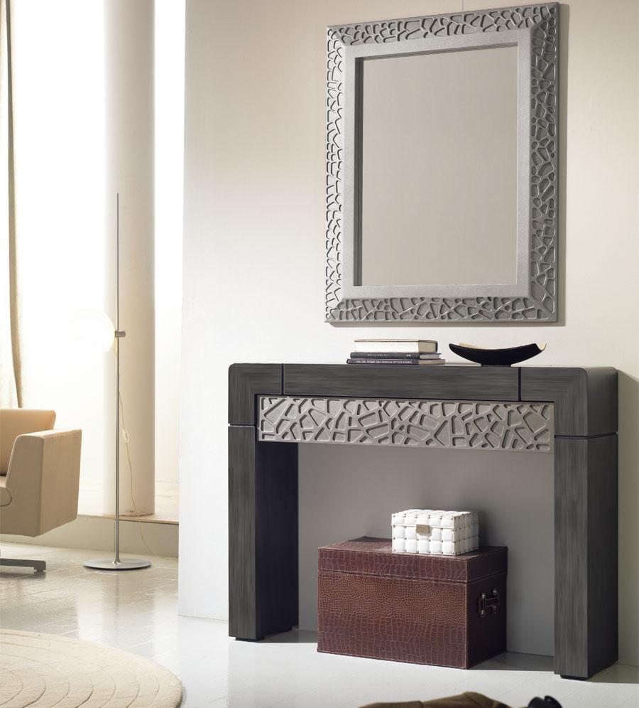 Conjunto recibidor vittr a 120 x 90 x 30 y espejo for Espejo 140 x 80